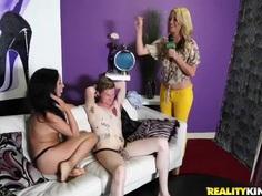 The Money Talks crew tries to seduce a teen