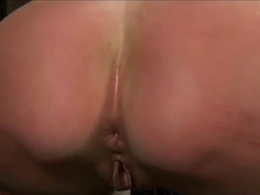 slave tortured and begs to cum 2 of 2