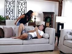 Hot Milf Ava Addams blowjob Keiran Lees cock