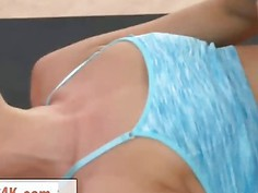 Ukrainian Beauty Ivana Sugar Gets Stripped And Fucked By Fitness Instructor