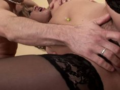 Innocent looking cutie Kimberly Conquers blowjobs like a vacuum cleaner