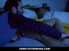 s. Blonde MILF Step Mom Woken Up By Step Son & Fucked While His Dad s.