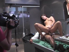 Alektra Blue and other pornstars in MIB XXX parody