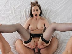 Hot MILF brings her boy toy home for some deep sweaty fucking!