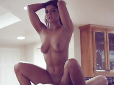 Tomi Taylor pussy nailed in the kitchen