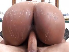Black cutie desires some taming for her wazoo