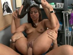 Gigantic whire cock tears apart Reena Sky's delicious pussy